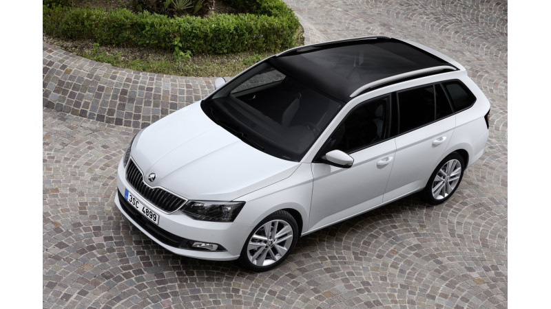 Skoda begins production for 2015 Fabia Estate